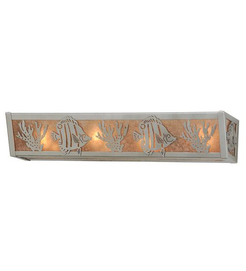 "24""W Tropical Fish Vanity Light"