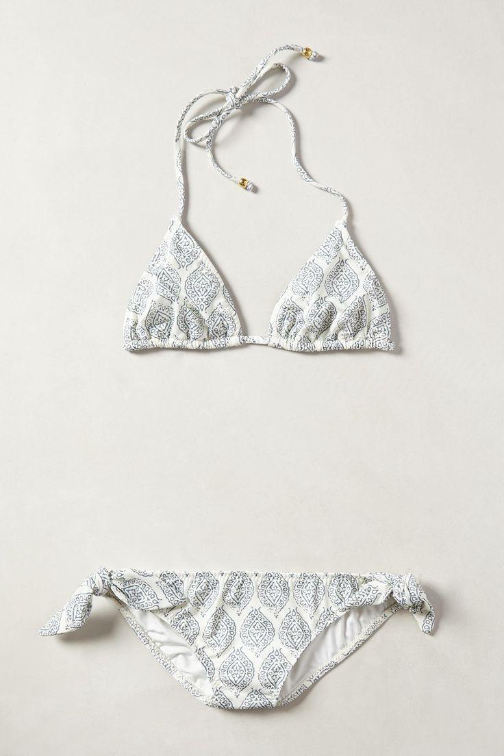 #NantucketStyle ~ Eberjey Batik Hipsters Bikini ~ anthropologie.com