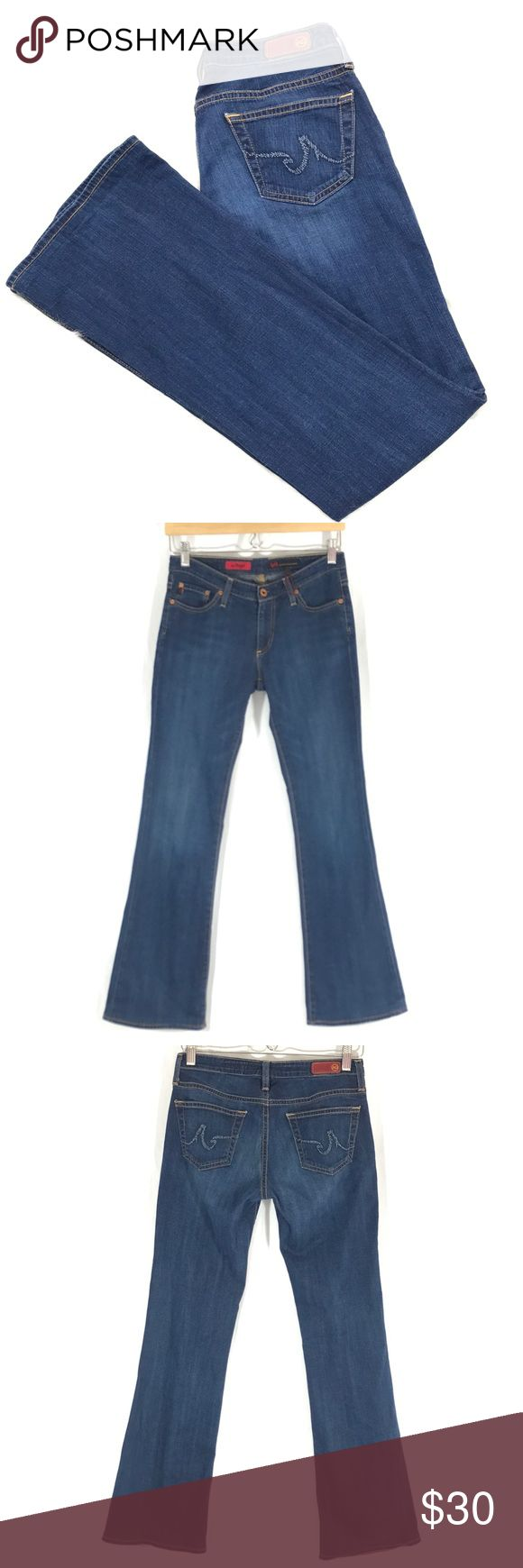 """A08 - AG Adriano Goldschmied """"The Angel"""" Jeans AG Adriano Goldschmied """"The Angel"""" Womens Jeans   Size 27R  31 Inseam Ag Adriano Goldschmied Jeans Boot Cut"""