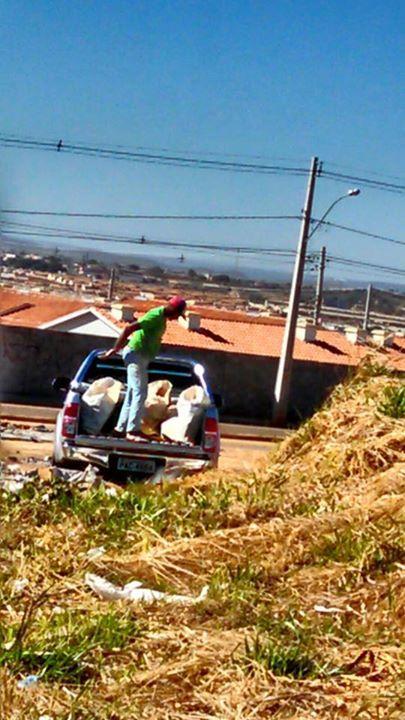 08/09/2015 - crime ambiental - Secretaria de Desenvolvimento e Infraestrutura Urbana de Valparaíso-GO: