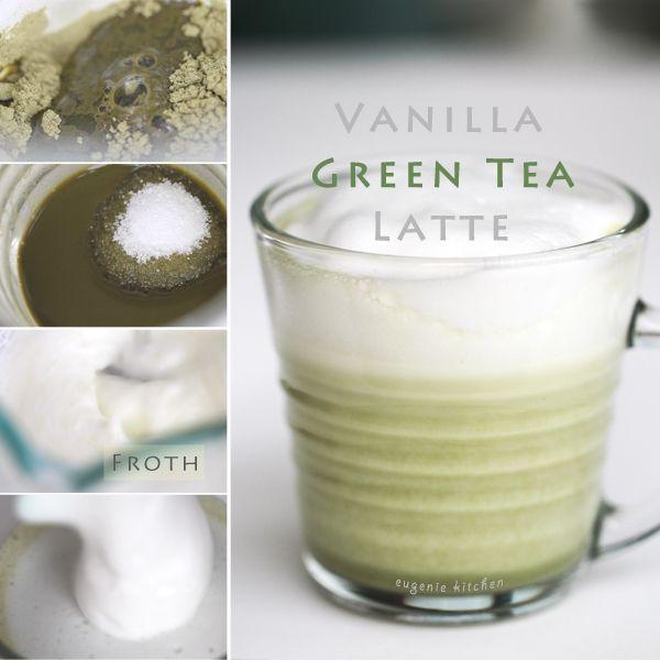 Vanilla Green Tea Latte Recipe #hydration is a healthy occupier