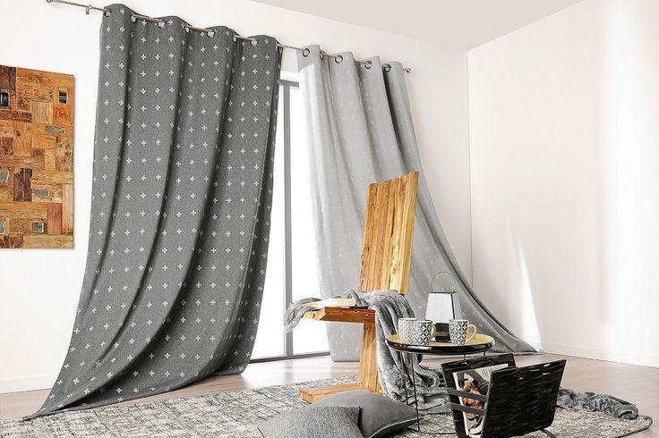 Des rideaux épais