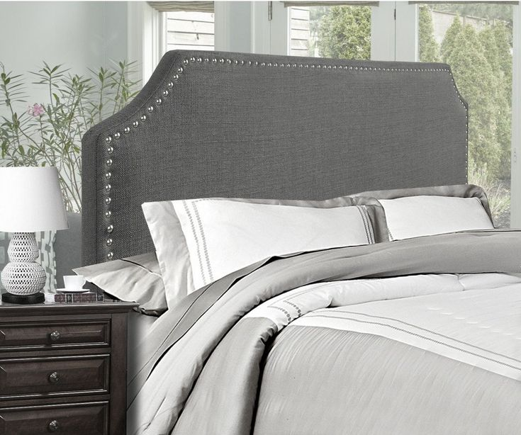 Florence Queen/Full Headboard (Grey)... #furniture #homedecor #interiordesign #design #decor #home #living #office #family #entertainment #luxury #affordable #sale #discount #freeshipping #canada #toronto #usa #america #fashion #design #bedroom #comfort #happy #style #rest #relax