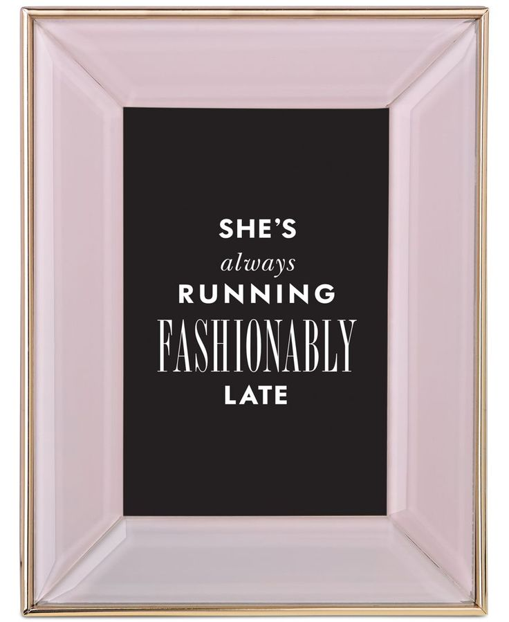 "kate spade new york Charles Lane 4"" x 6"" Frame"