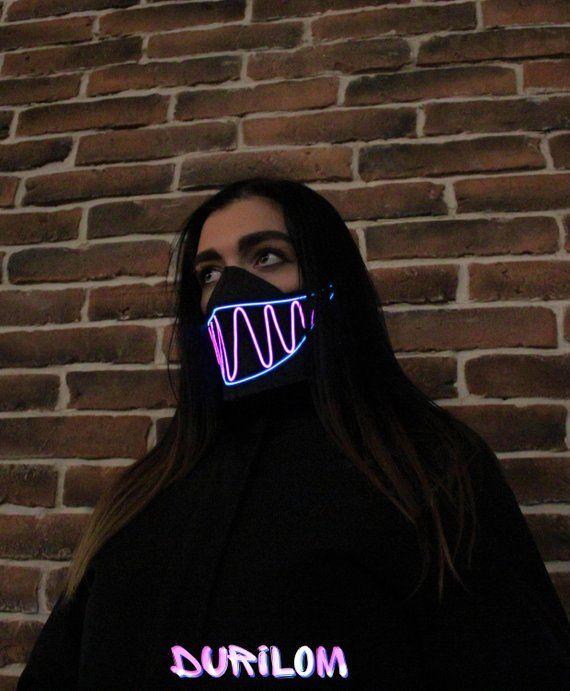alan walker maschera bocca