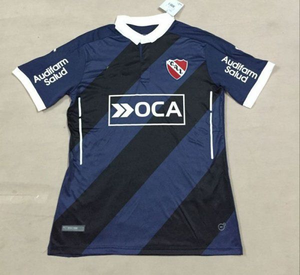 CA Independiente 2016-17 Season Dark Blue Away Soccer Jersey - Click Image to Close