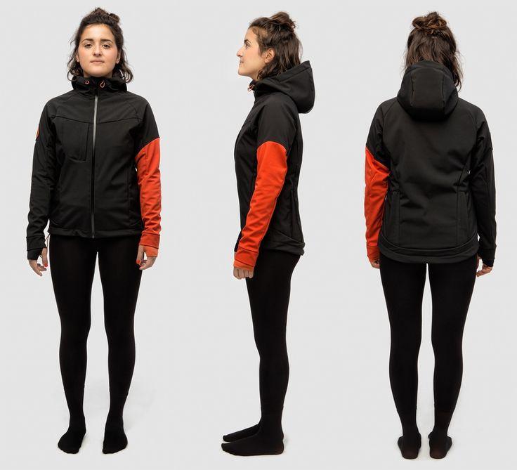 Gorilla Jacket - BLACK/ORANGE - 2014 - Blind Chic.