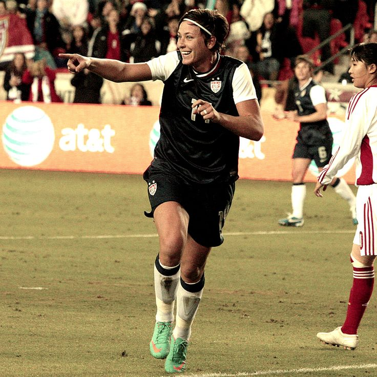 Congratulations to Abby Wambach on reaching 150 goals for the #USWNT!