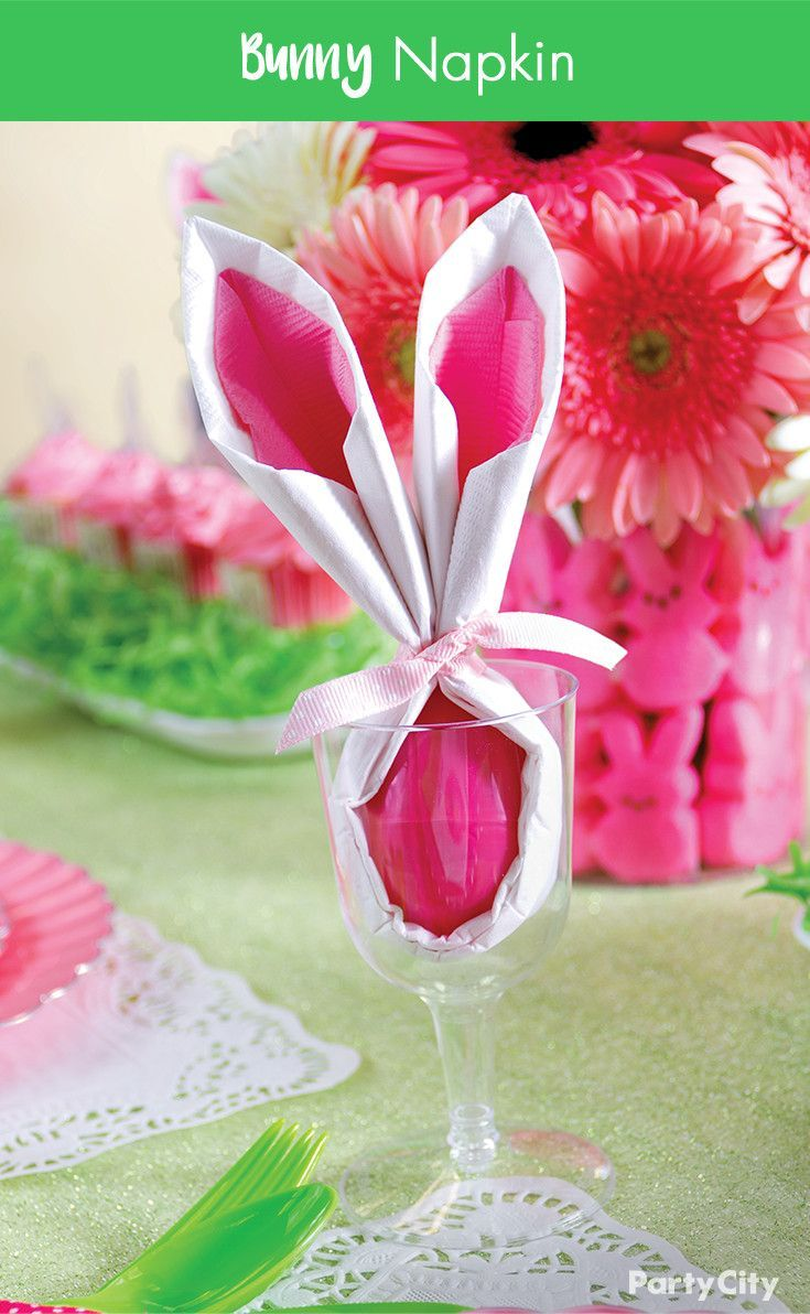 An adorable idea for your Easter brunch