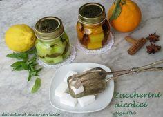 Zuccherini alcolici digestivi