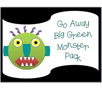 Nerdy image throughout go away big green monster printable book