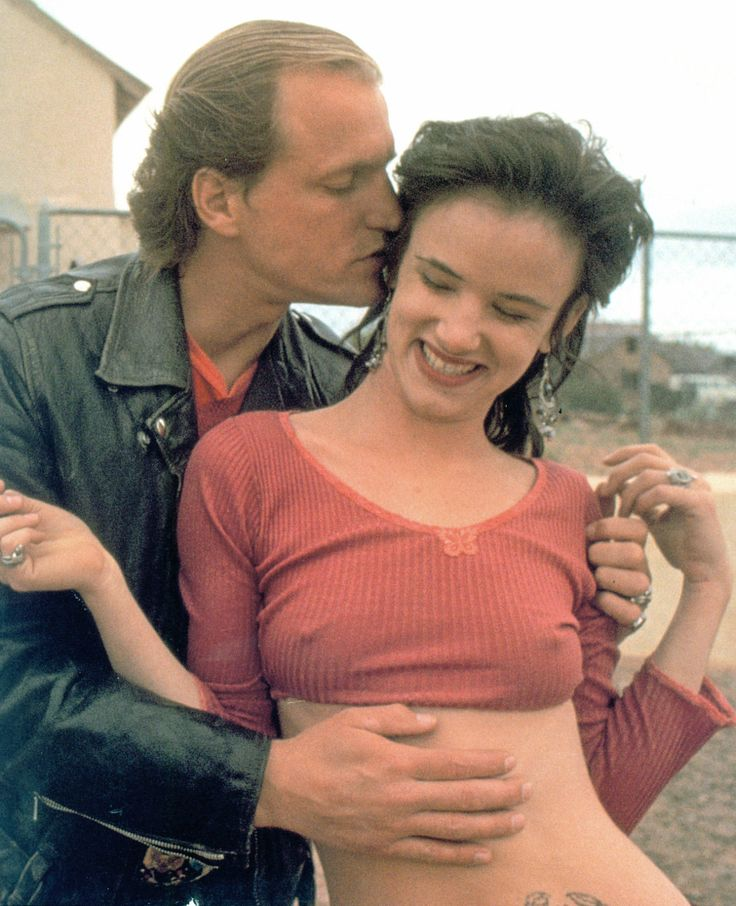 Woody Harrelson and Juliette Lewis as Micky Knox and Mallory Knox in Natural Born Killers.