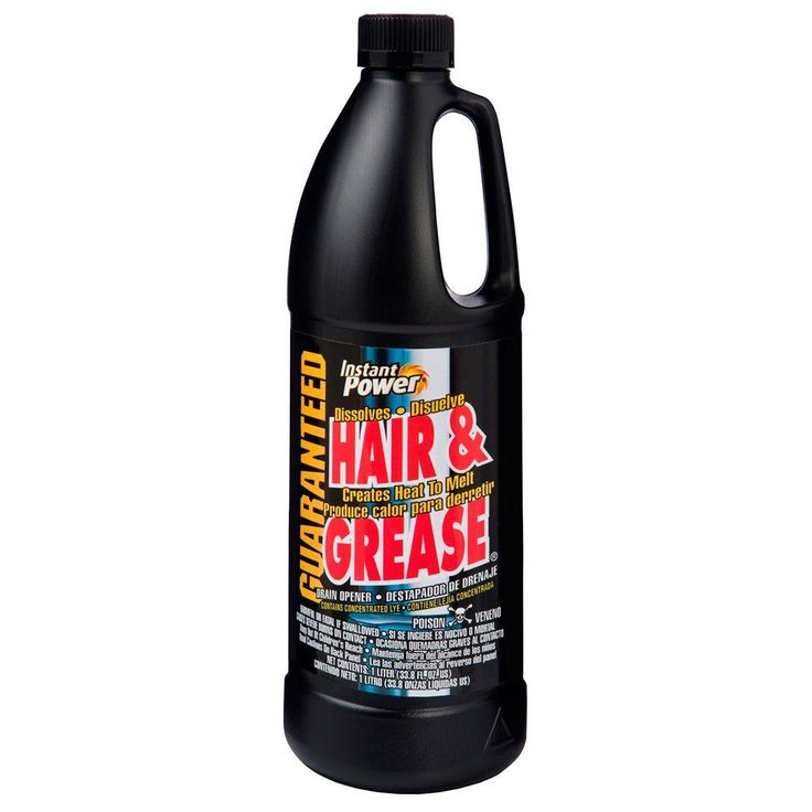 Instant Power 33 8 Oz Hair And Grease Drain Cleaner 1969 Drain