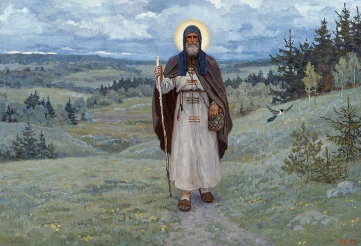 Преподобный Сергий Радонежский. По Руси