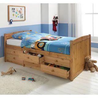 """интернет-магазин """"ЕвроМебель"""": Односпальные кровати для детей из дерева"""