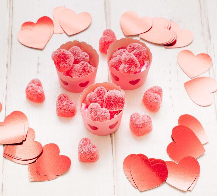 Cómo hacer gominolas de San Valentín con Thermomix - Recetas Thermomix