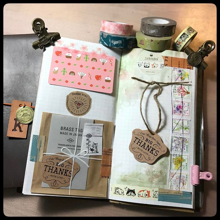 Having some Midori time and enjoying my adorable products from @cutethingsfromjapan These vintage looking bulldog clips with dangly charms are great. I ended buying some new washi, and Aya was so kind to help locate a limited edition airport brass charm. Thank you Ayako! 💕❤️🙏#washitape #stationery #happymail #stationeryaddict #plannercommunity #plannergoodies #midoritravelersnotebook #travelersnotebook @travelers_company #onmydesk