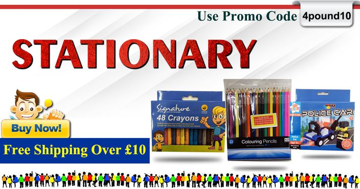 Buy all your ‪#‎Stationery_items‬ at low cost ‪#‎4Pound‬ Shop Now : http://www.4pound.co.uk/stationery Free delivery on orders over £10