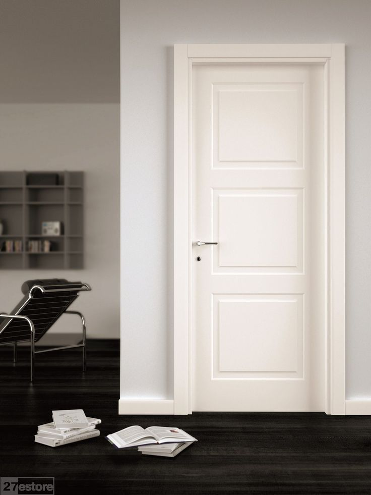 Modern White Interior Doors