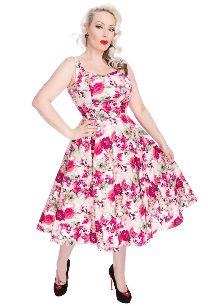 Hearts and Roses London - [Arriving Soon] H&R Samantha Dress (Size 18-26)