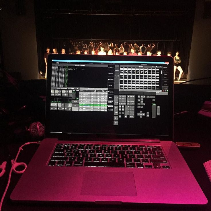 Updating cues remotely mid show. #dot2 #lightingdesign