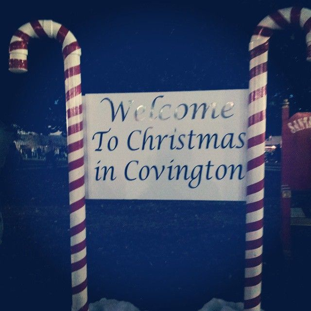 Welcome To Christmas In Covington Ga Ilovecovga