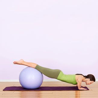Research shows that abdominal exercises done on the stability ball activate twice as many core muscles as classic belly toners like the crunch and the sit-up. To achieve the most bang for your belly, do this routine three days a week.