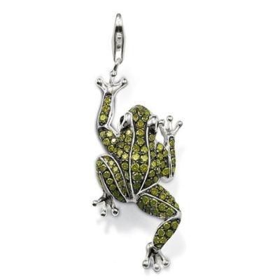 Sterling Silver Frog Pendant, $499, Thomas Sabo  Shop 43, Ground Floor, QVB