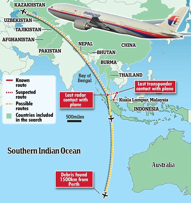 Strange: A former pilot said the plane's sharp westwards turn, as radar contact was lost, came as air traffic controllers in Malaysia handed over to their Vietnamese colleagues. Stephen Buzdygan said that is moment he would choose if he were to steal a plane