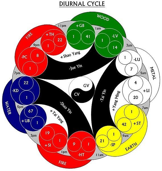 chinese 5 element theory