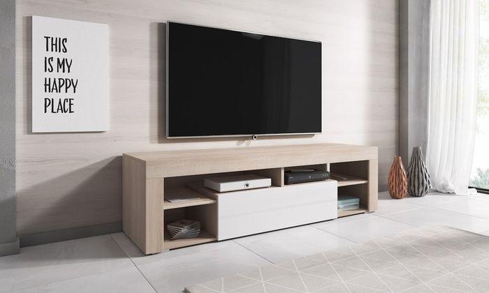 Meuble Tv Titan Groupon Meuble Tv Meuble Cuisine Meuble Tv Bas