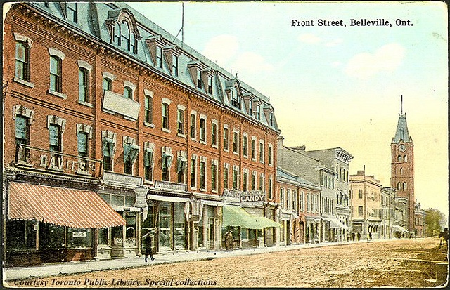 Front Street, Belleville, Ontario, Canada    Creator: Jennings and Sherry, The Book and Gift Shop  Date: 1910