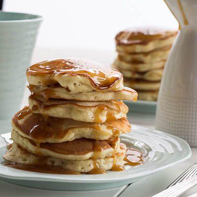Caramel Cake Pancakes
