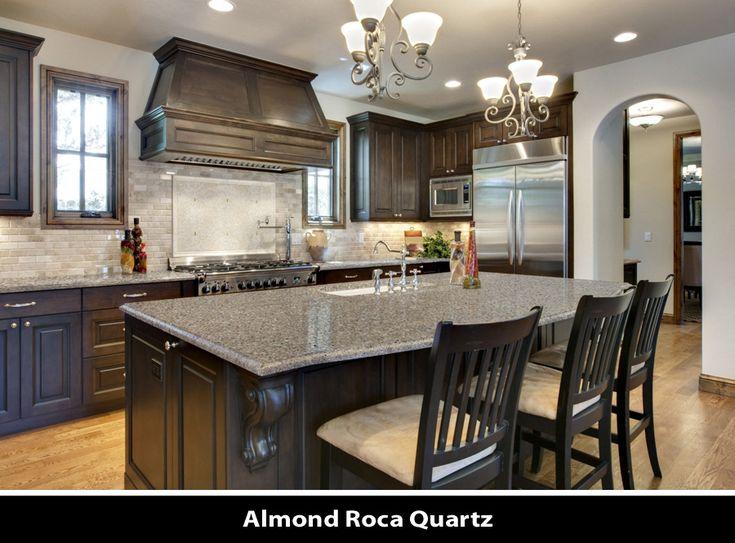 Almond Roca Quartz Kitchen Countertops Dream Kitchens