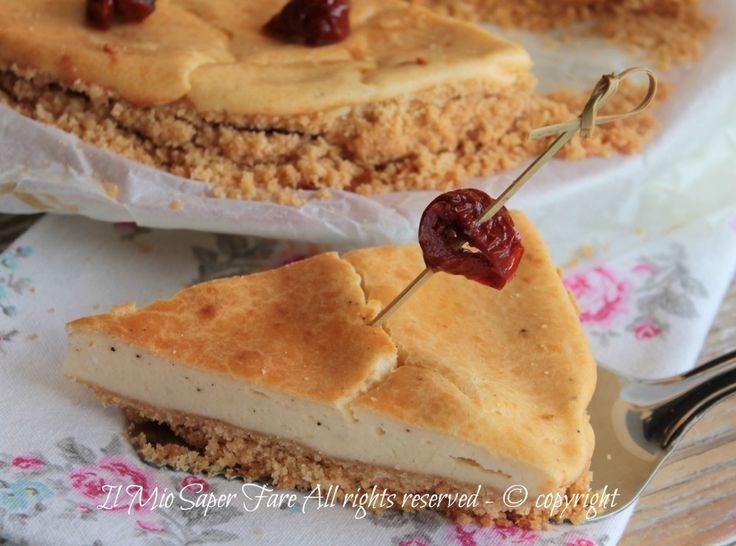 Cheesecake salato alla ricotta ricetta il mio saper fare