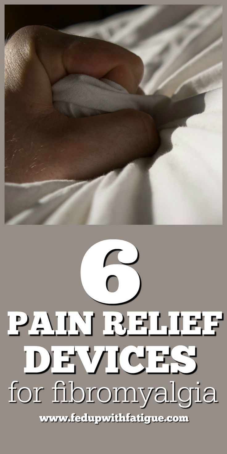 6 pain relief devices for fibromyalgia | Fed Up with Fatigue