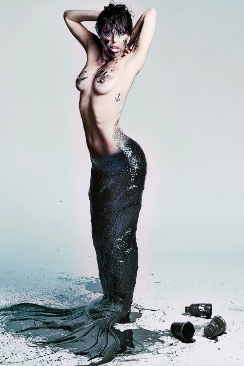 Lady Gaga Mermaid