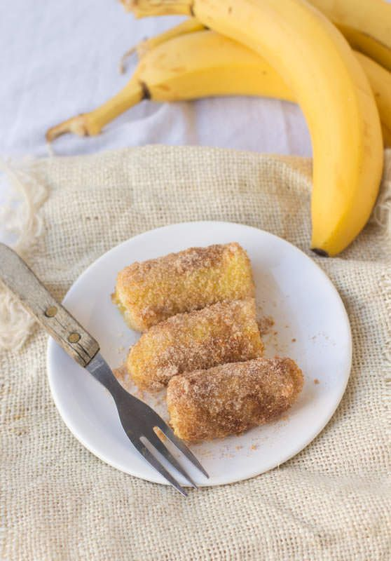 #copycat #Tucanos #fried Bananas! We got to Tucanos every year for my husband's birthday and the fried bananas are amazing. Now we make them at home. ohsweetbasil.com-4