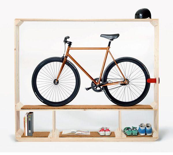 Un mueble para las bicicletas!