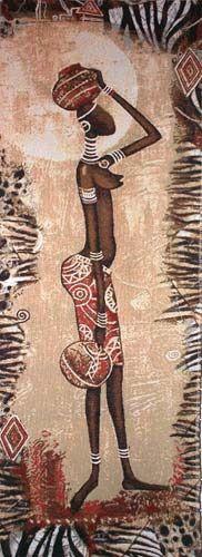 Африканки для Южной Сакуры (и не только) - Декупаж - Страна Мам