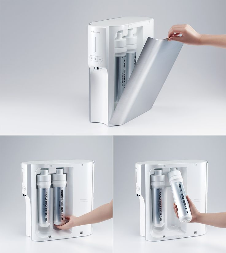 CONVEX TO CONCAVE_4 @ kimseungwoo.com ___________________________ water purifier hot & cool easy to use filter maintenance aluminum good usability slim compact design