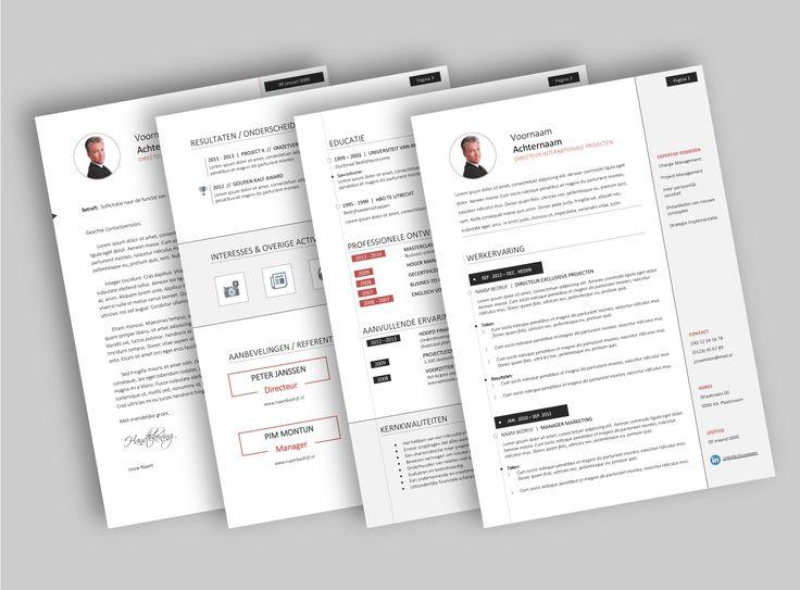 CV template 2025. Laat de lay-out van je CV pimpen en eventueel de tekst optimaliseren. www.mooicv.nl