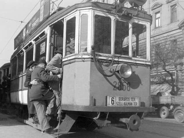 1950. Szt. István körút a Visegrádi utcánál