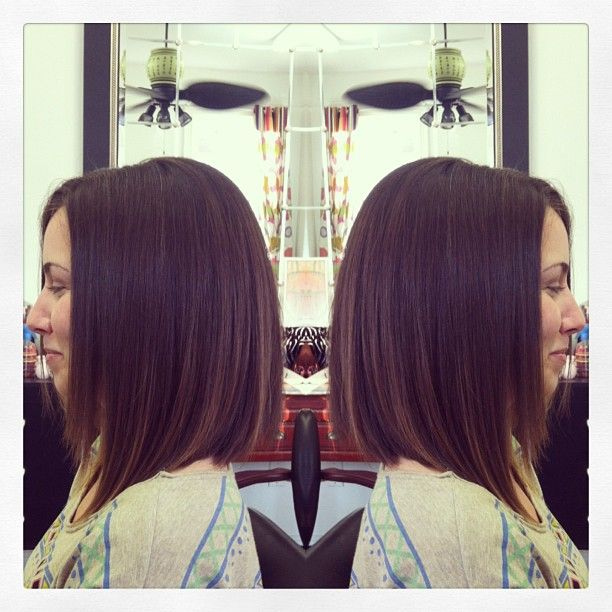 the perfect lob. PLEEEEASE be this long by summer, hair. please!
