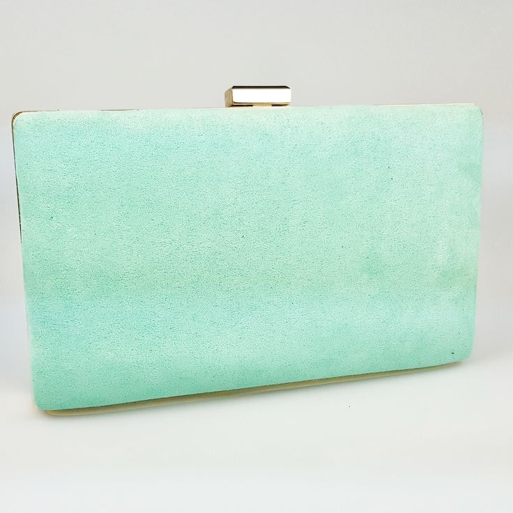 Bolso de fiesta en color verde esmeralda
