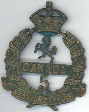 5th Battalion, CEF www.canadiansoldiers.com Organized: 6 August 1914 Initial Strength: 1,095 Service: Component of the 2nd Infantry Brigade, 1st Canadian Division in France and Flanders. Disbanded: G.O. 149/1920 eff 15 September 1920 Perpetuated by: The Royal Hamilton Light Infantry (Wentworth Regiment)