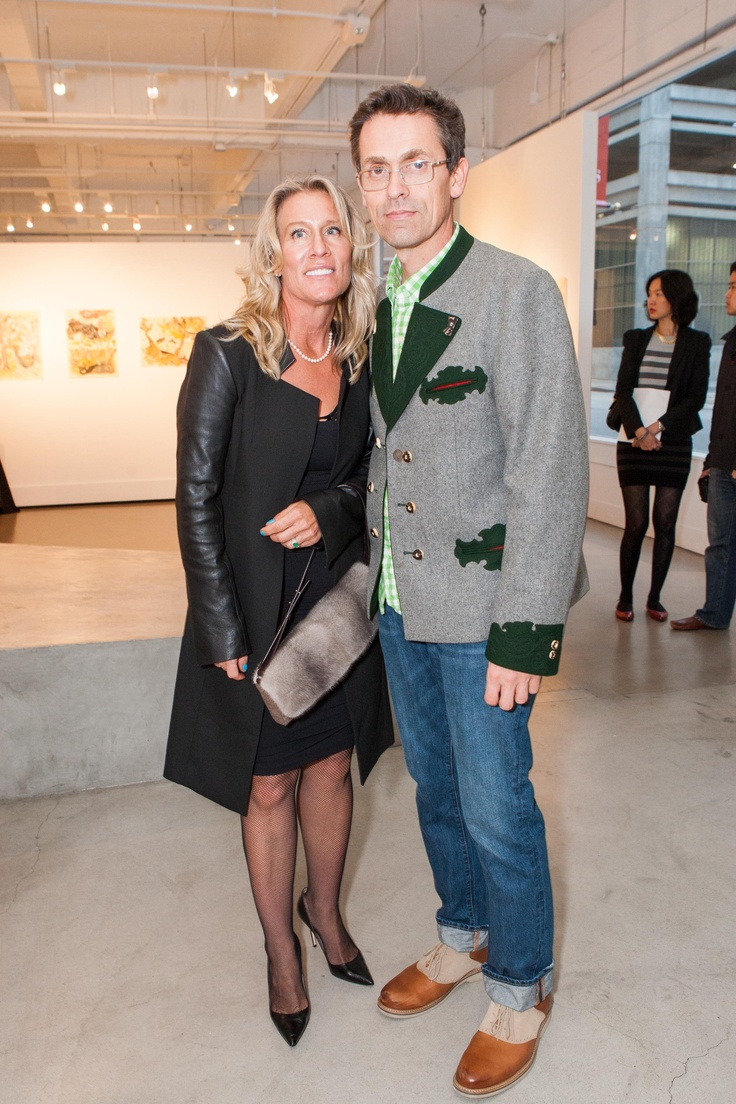 Sotheby's Jeanine Murphy and friend.