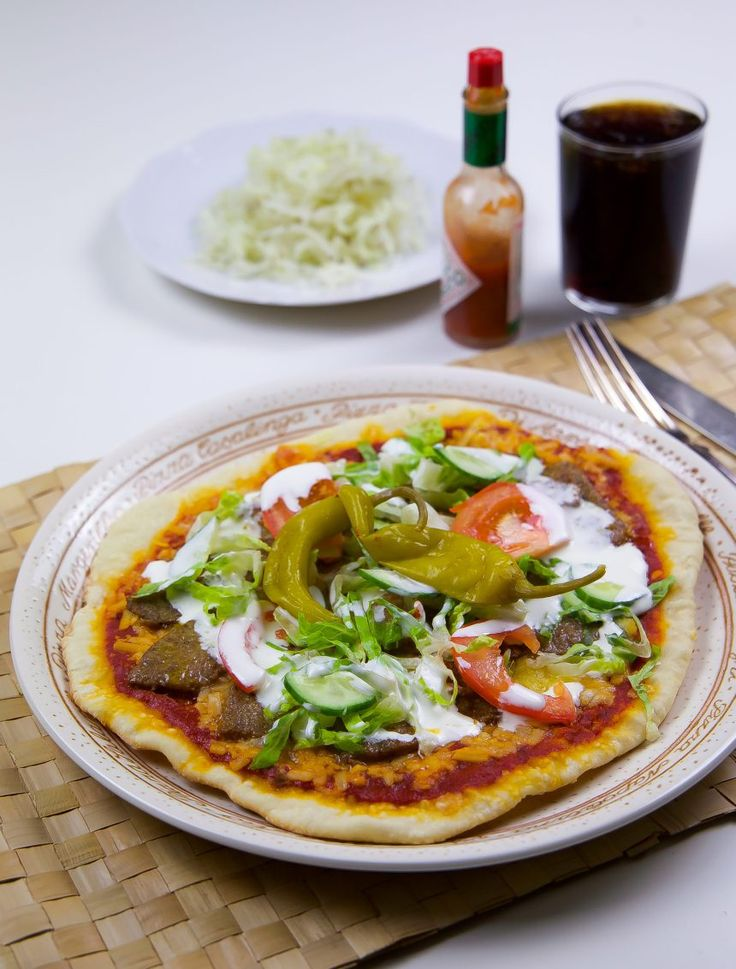 Kebabpizza - ZEINAS KITCHEN