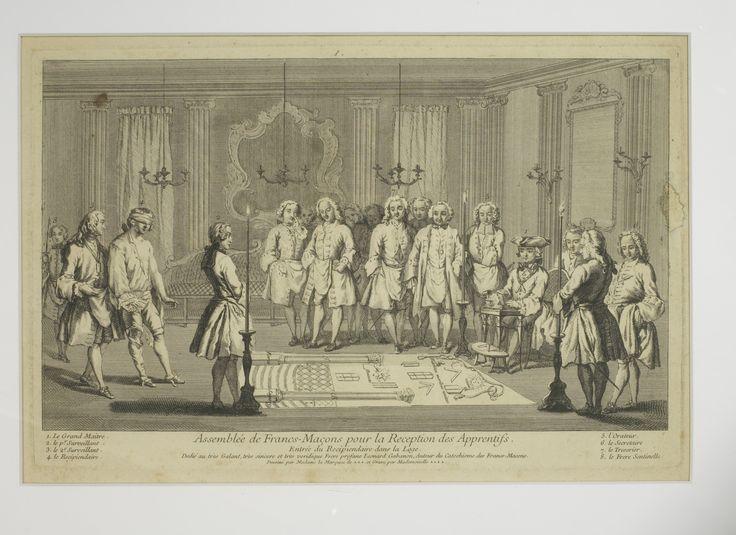 Franc-Maçonnerie en Grande Loge De France - Aperçu des collections