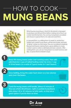 Dr. Axe - How to cook mung beans